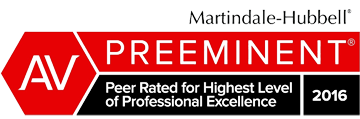 AV Rated by Martindale-Hubbell